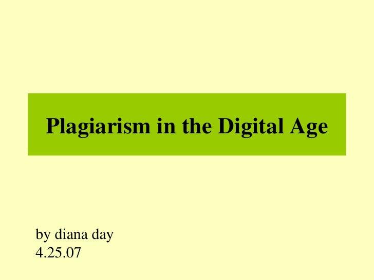 Plagiarism in the Digital Age