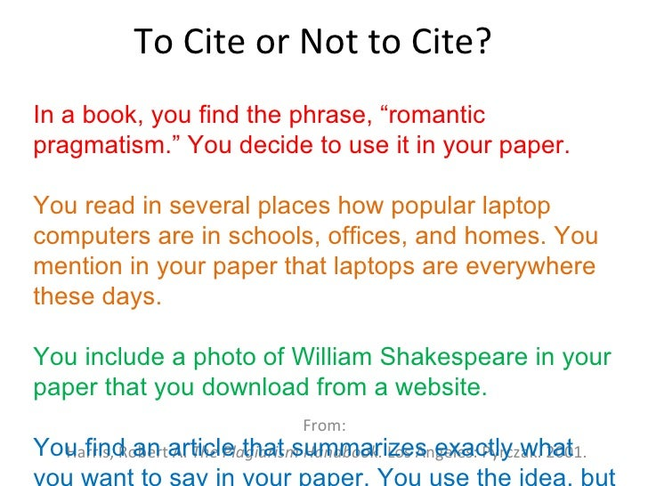 Cite essay from textbook