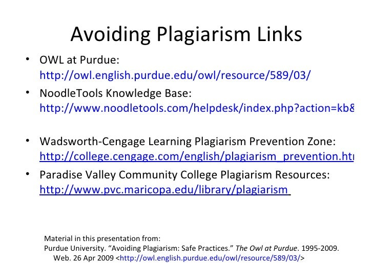Avoiding Plagiarism Worksheetteaching middle school students to – Avoiding Plagiarism Worksheet