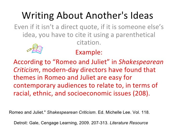 example of citation in an essay