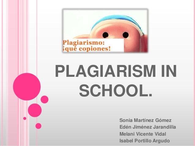 Plagiarism in school
