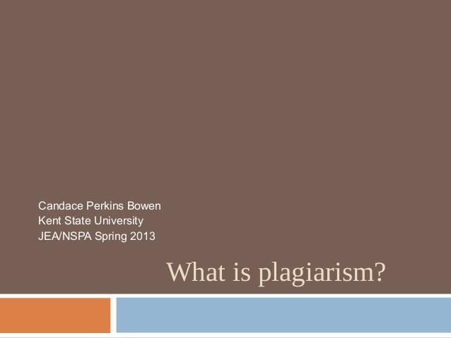 Plagiarism jea13