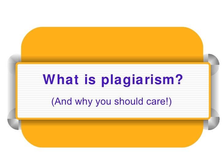 Plagiarism(mar22)