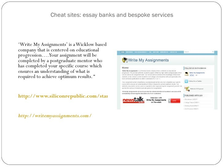 Do essays from sites like chat come up as plagiarism