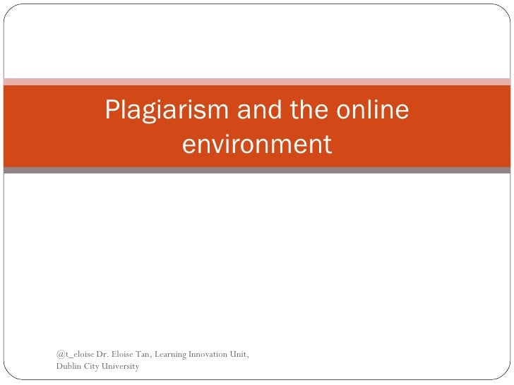 Research paper on plagiarism