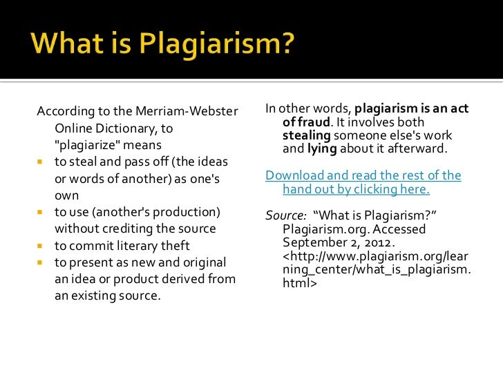 Custom writing plagiarism video