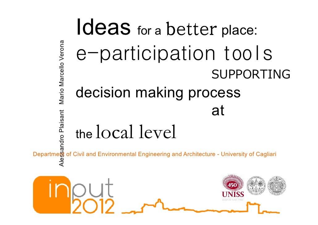 Plaisant & Verona - input2012