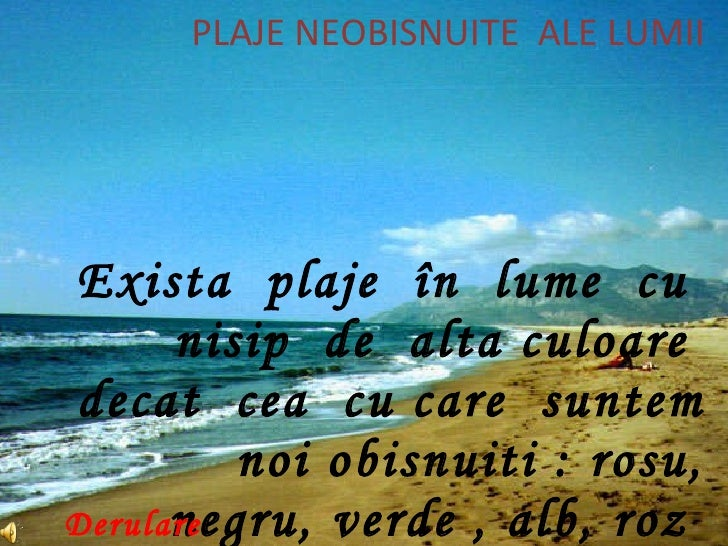 Plaje Neobisnuite Beach of the world