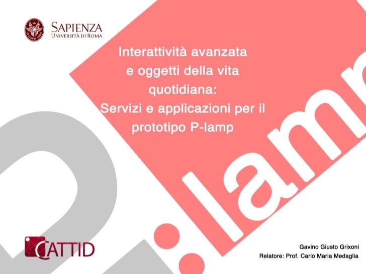 P -lamp_Gavino Giusto Grixoni