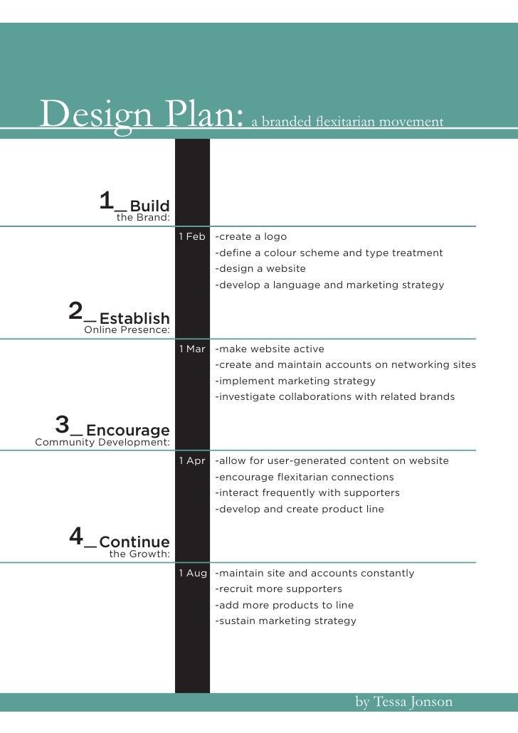 Design Plan:                           a branded flexitarian movement               1_ Build              the Brand:      ...