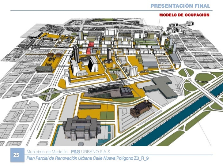 Plan Parcial de Plan Renovacicion Urbana Calle Nueva