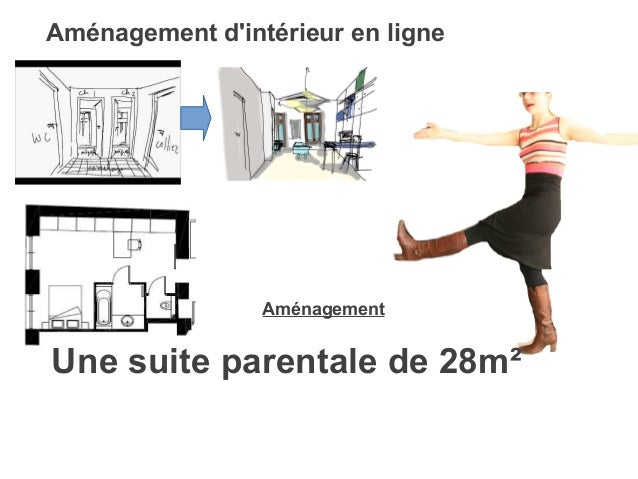 Plan suite parentale for Amenagement interieur en ligne