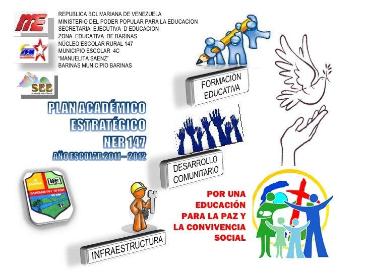 POR UNA EDUCACIÓN PARA LA PAZ Y LA CONVIVENCIA SOCIAL REPUBLICA BOLIVARIANA DE VENEZUELA MINISTERIO DEL PODER POPULAR PARA...