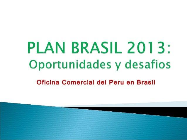 Oficina Comercial del Peru en Brasil