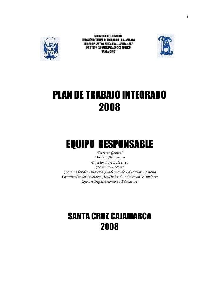 1                        MINISTERIO DE EDUCACIÓN             DIRECCIÓN REGIONAL DE EDUCACIÓN - CAJAMARCA               UNI...
