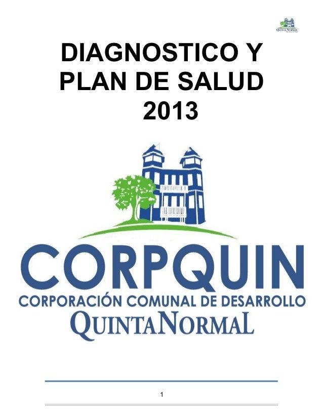 DIAGNOSTICO YPLAN DE SALUD20131