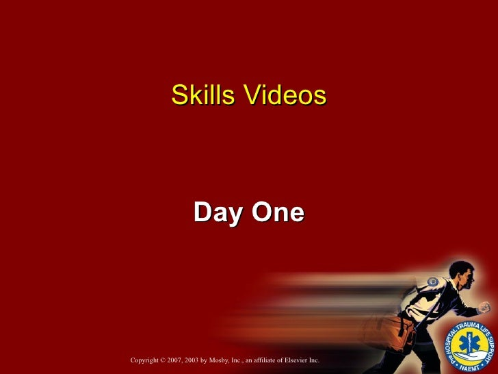 Skills Videos Day One