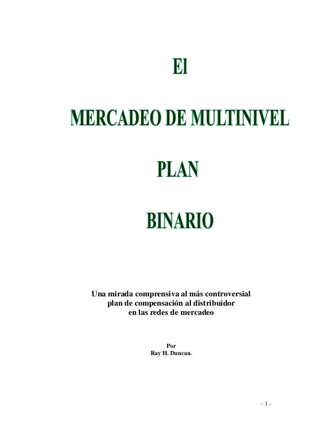 Plan binario