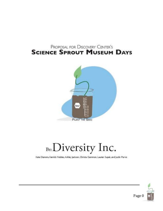 Science Sprouts Museum Day Plansbook