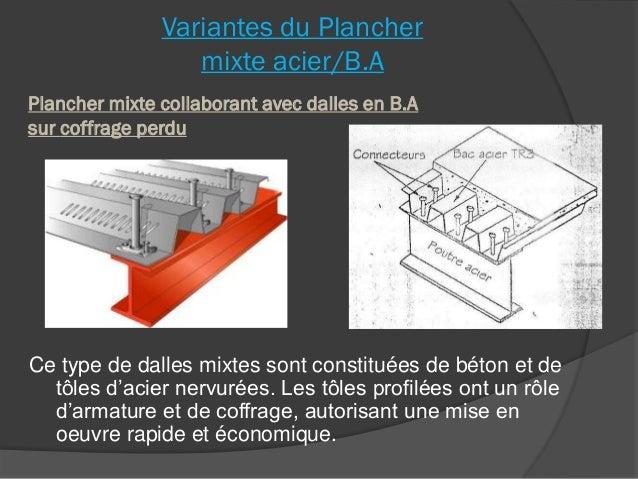 Planchers 07 - Coffrage perdu metallique plancher collaborant ...