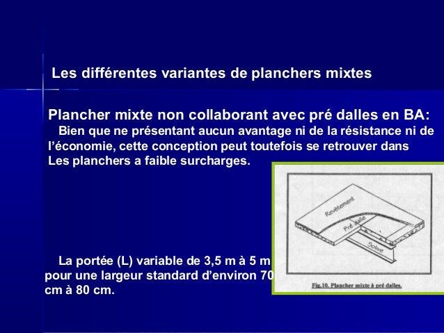 Planchers et parois de s paration - Coffrage perdu metallique plancher collaborant ...