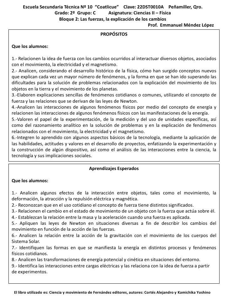 "Escuela Secundaria Técnica Nº 10 ""Coatlicue"" Clave: 22DST0010A Peñamiller, Qro.                    Grado: 2º Grupo: C     ..."
