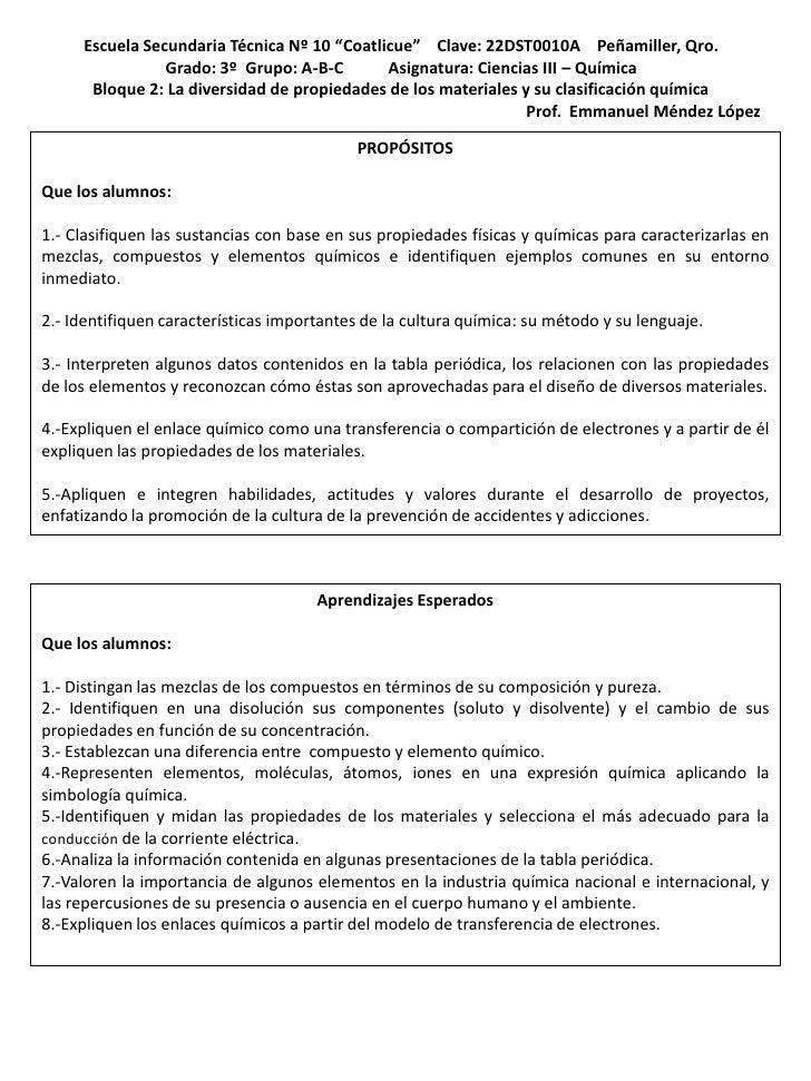 """Escuela Secundaria Técnica Nº 10 """"Coatlicue"""" Clave: 22DST0010A Peñamiller, Qro.                Grado: 3º Grupo: A-B-C     ..."""