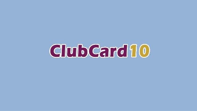 PRESIDENTE CLUBCARD10 Proviene de una familia con tradición empresarial, y en el año 2001, decidió emprender su camino en ...