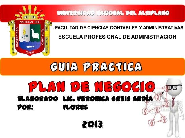 Plan completo