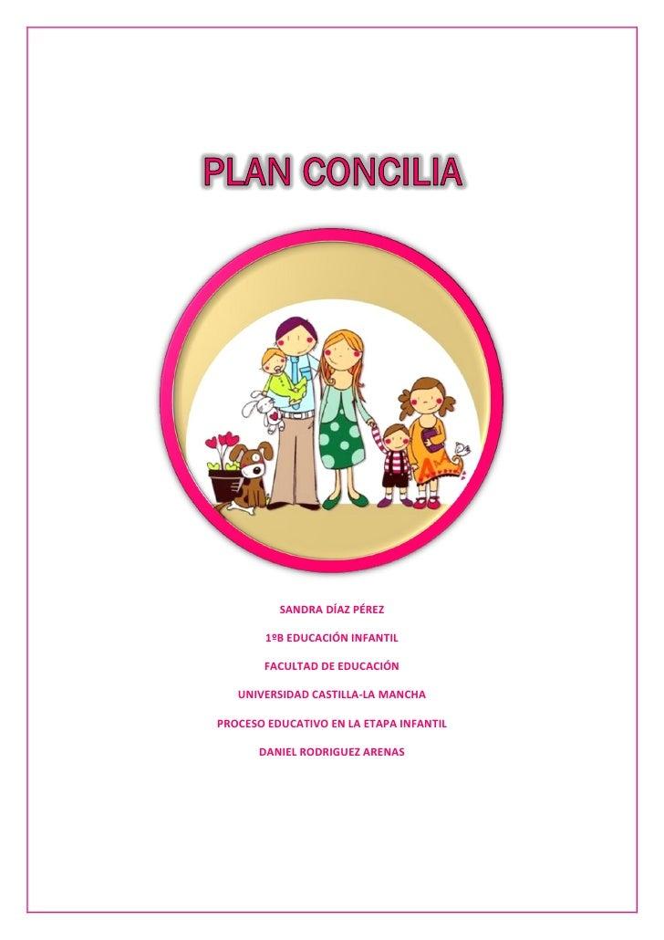 SANDRA DÍAZ PÉREZ        1ºB EDUCACIÓN INFANTIL       FACULTAD DE EDUCACIÓN   UNIVERSIDAD CASTILLA-LA MANCHAPROCESO EDUCAT...