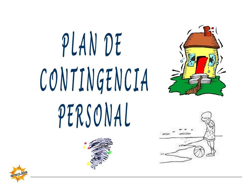 Plan de Contingencia Personal frente a Sismos
