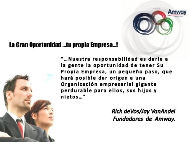La Gran Oportunidad …tu propia Empresa…!