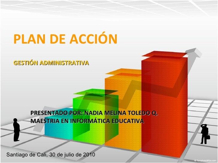 Plan de acción empresas app