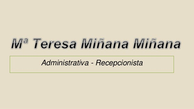 Administrativa - Recepcionista