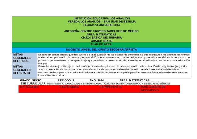 INSTITUCIÓN EDUCATIVA LOS ARAUJOS  VEREDA LOS ARAUJOS – SAN JUAN DE BETULIA  FECHA: 23-OCTUBRE-2014  ASESORÍA: CENTRO UNIV...