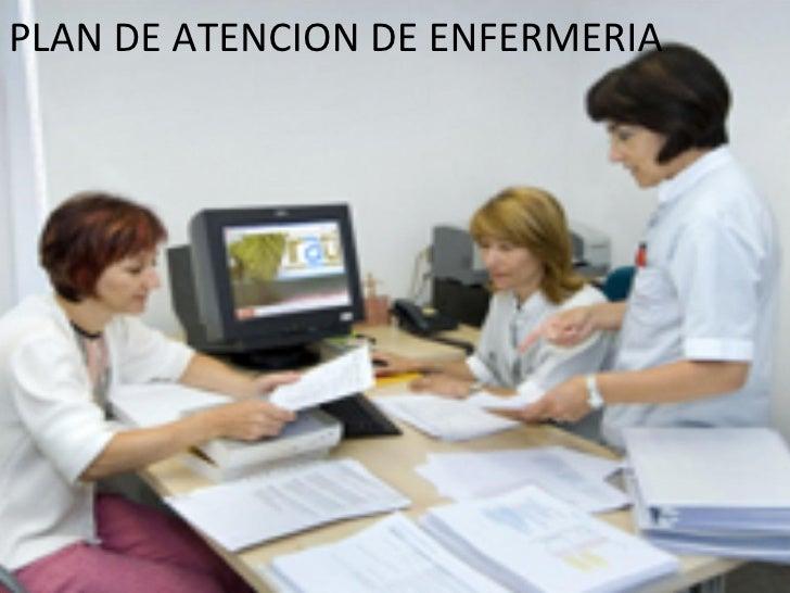Plan de atencion de enfermeria