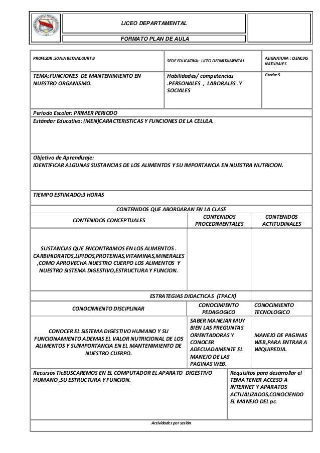 PROFESOR :SONIA BETANCOURT B SEDE EDUCATIVA: LICEO DEPARTAMENTAL ASIGNATURA : CIENCIAS NATURALES TEMA:FUNCIONES DE MANTENI...