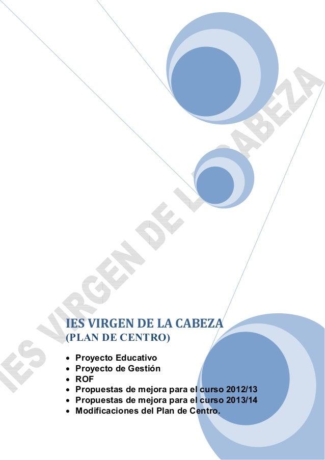 Plan de centro 2013 2014