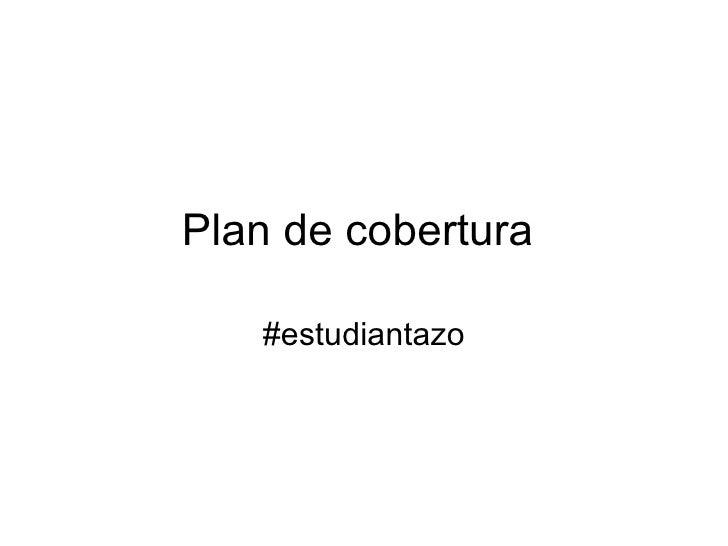 Plan de cobertura