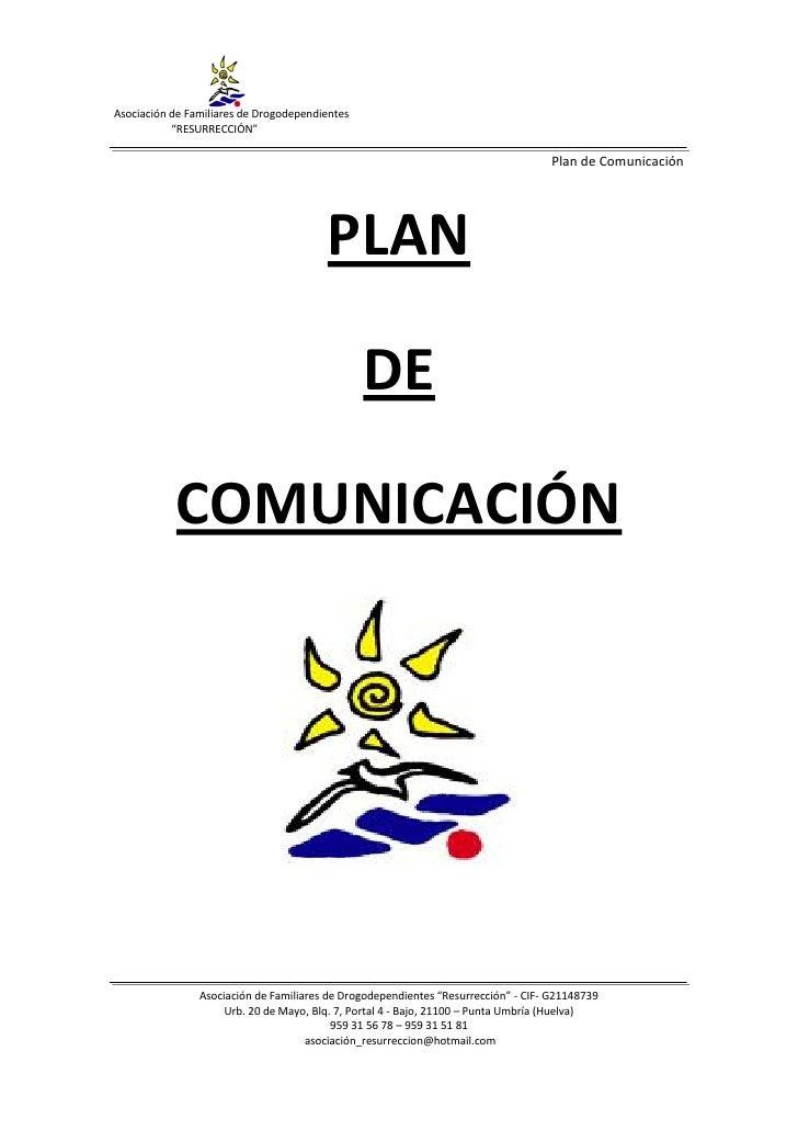 Plan de comunicación resurreccion (sin anexos)