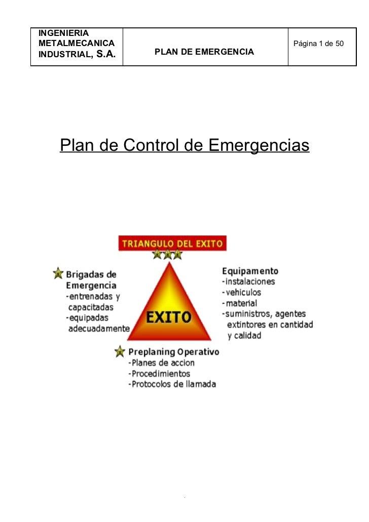 Plan de emergencia de i n i m  kevin la fond