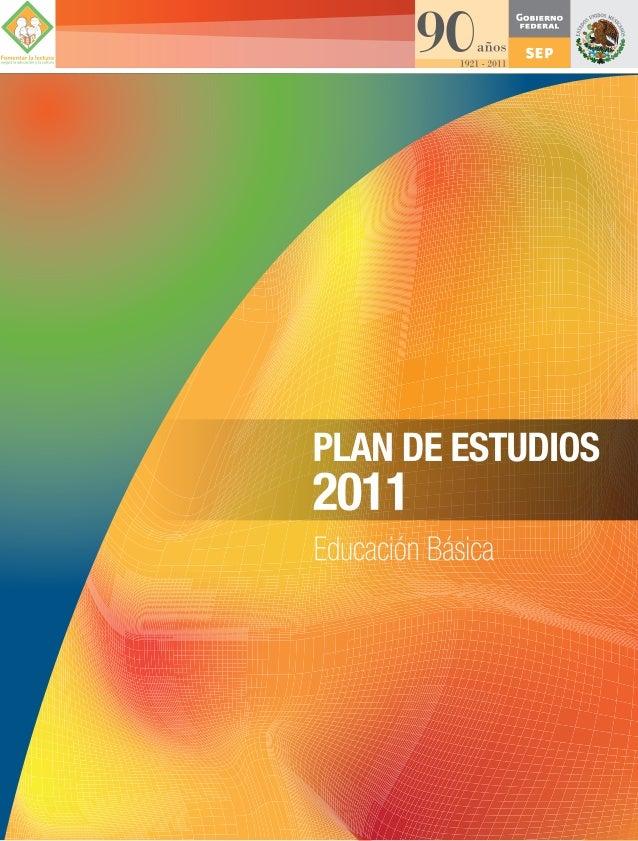 Plan de estudios educación básica
