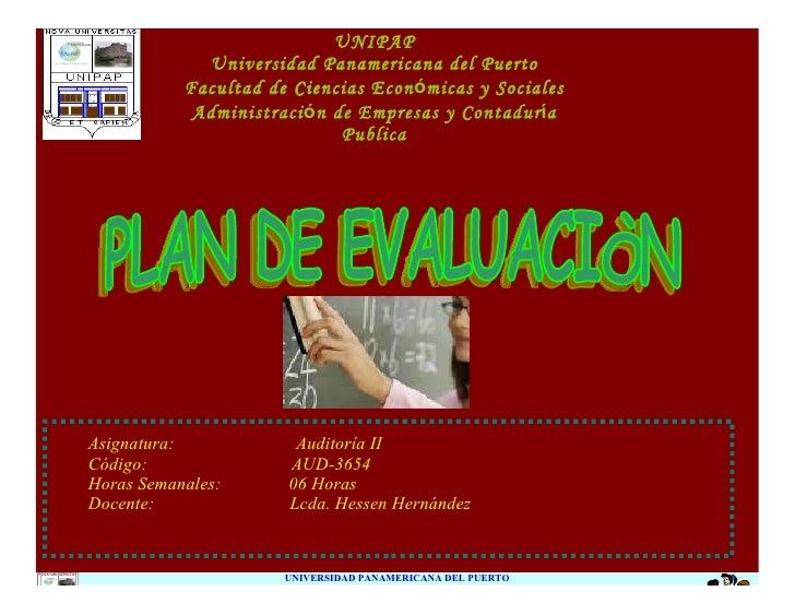 UNIPAP              Universidad Panamericana del Puerto            Facultad de Ciencias Económicas y Sociales             ...