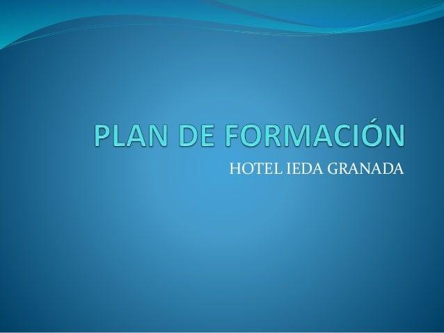 PLAN FORMACION HOTEL TAREA 41 RHA
