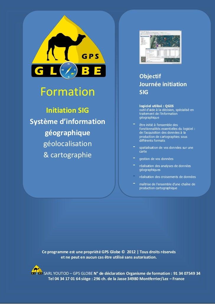 Objectif                                                      Journée initiation  Formation                               ...