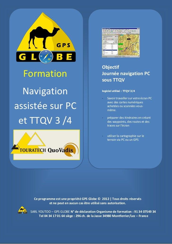 Plan de formation PC TTQV 3 et 4