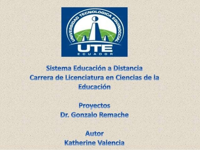 UTE_Proyectos_DayanValencia_Dr.Remache_Plande investigación_30/06/2014Plan de invetsigación
