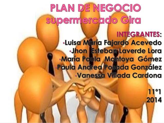 Nombre del proyecto:  Supermercado gira – (S.A)  Objetivo general:  Satisfacer en la comunidad en la  comunidad de girasol...