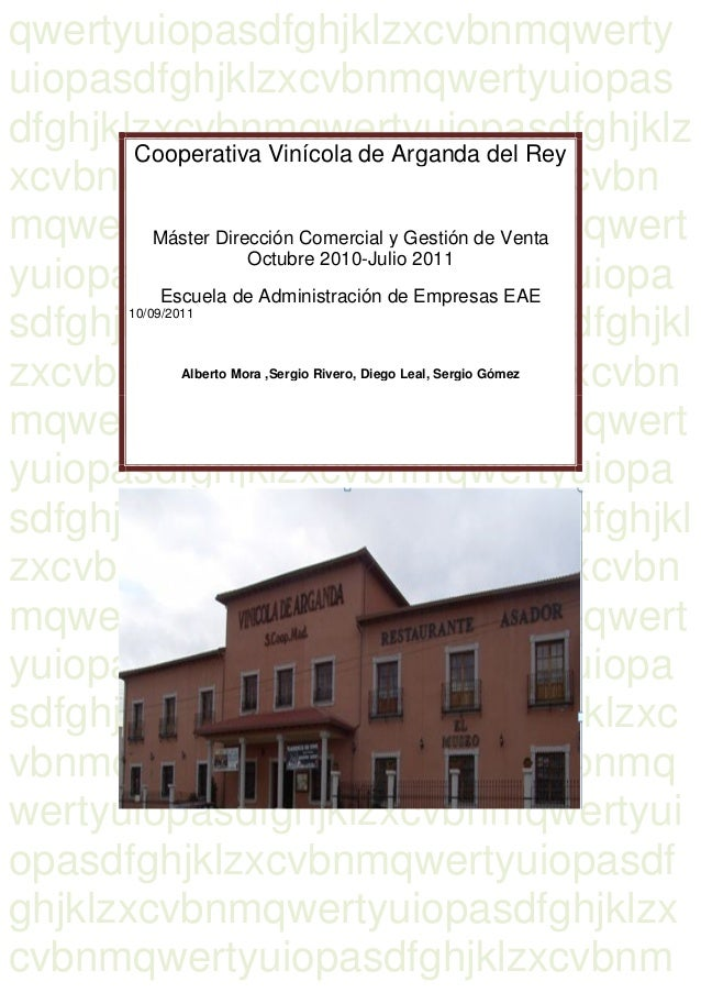 Cooperativa Vinícola de Arganda del Reyqwertyuiopasdfghjklzxcvbnmqwerty uiopasdfghjklzxcvbnmqwertyuiopas dfghjklzxcvbnmqwe...