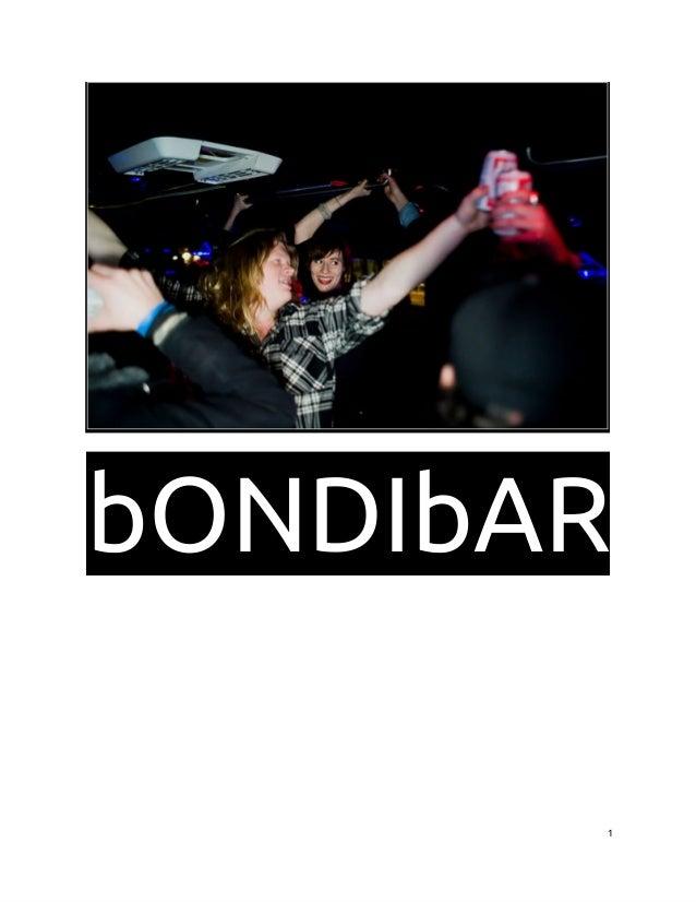 bONDIbAR 1